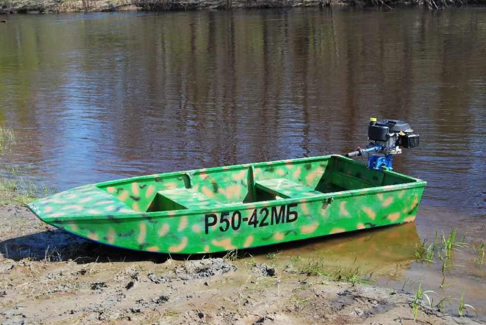самые простые самодельные лодки
