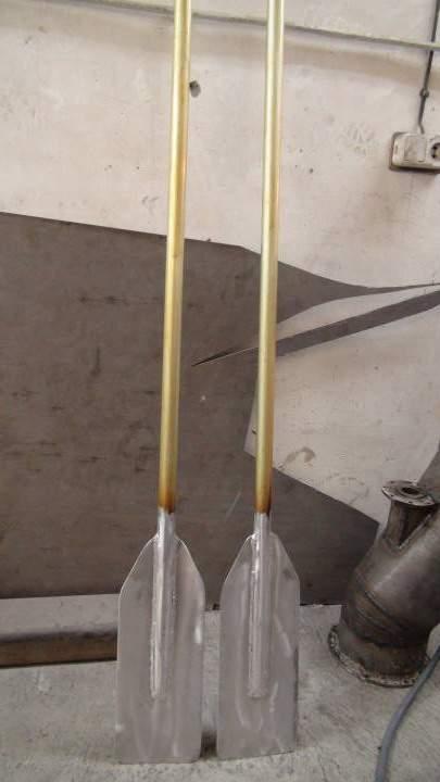 Как сделать вёсла и из чего 168