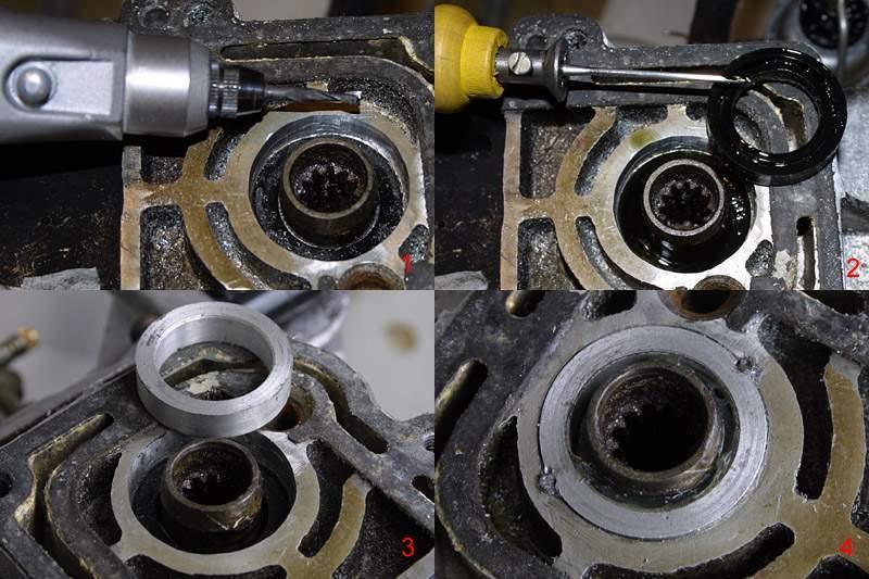 лодочные моторы ремонт сальника