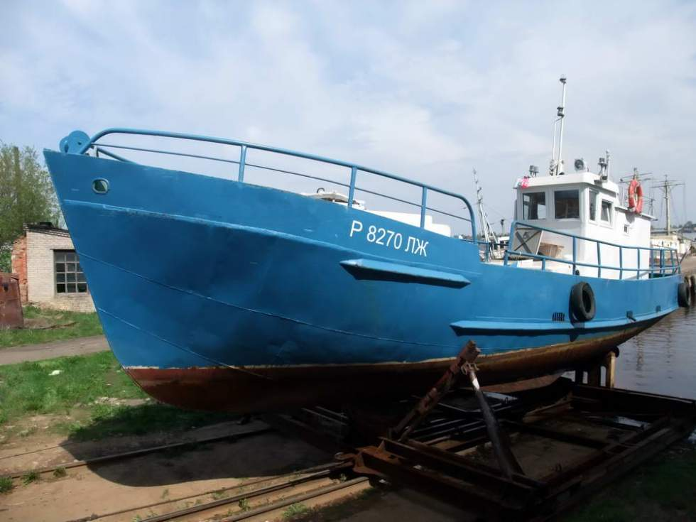 малый рыболовный бот типа мрб-20