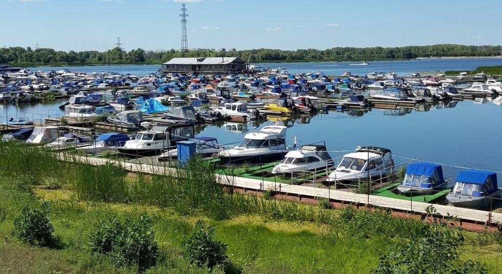 лодочная станция волга в ульяновске