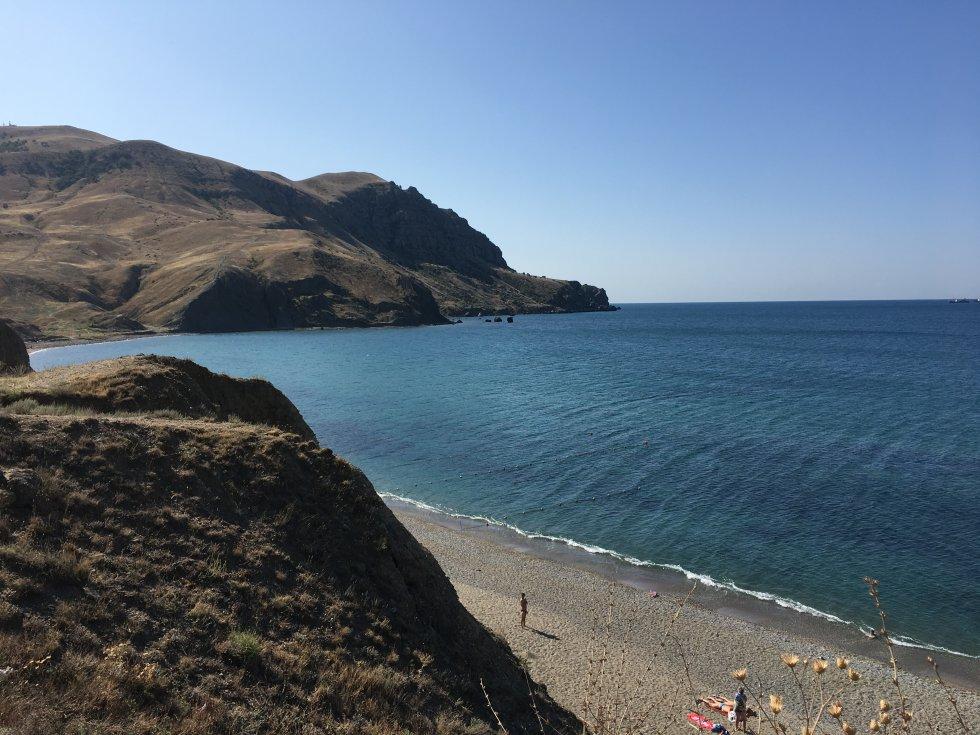 Пляж меганом карта и фото возможности