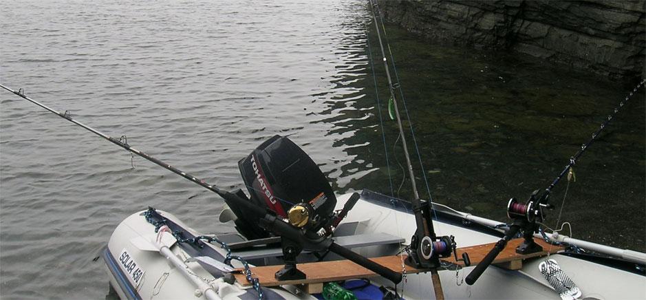 Крепеж спиннинга для лодки пвх своими руками