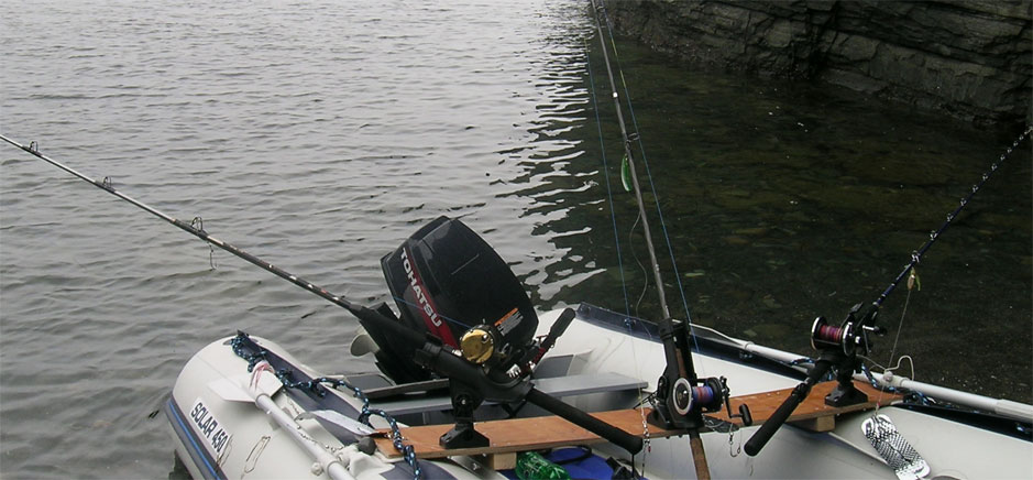 Крепление для удилища на лодку пвх