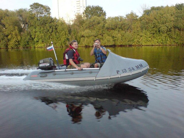 самодельный носовой тент для лодок пвх