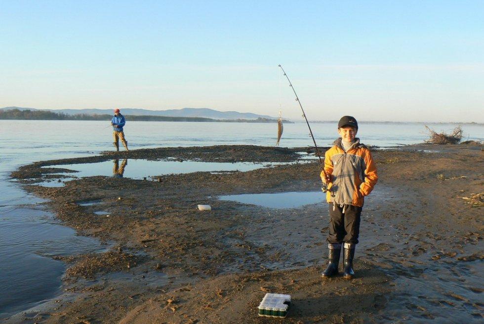 троегуб рыбу ловят на