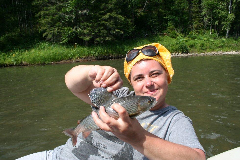 рыбалка в верхнем течении или