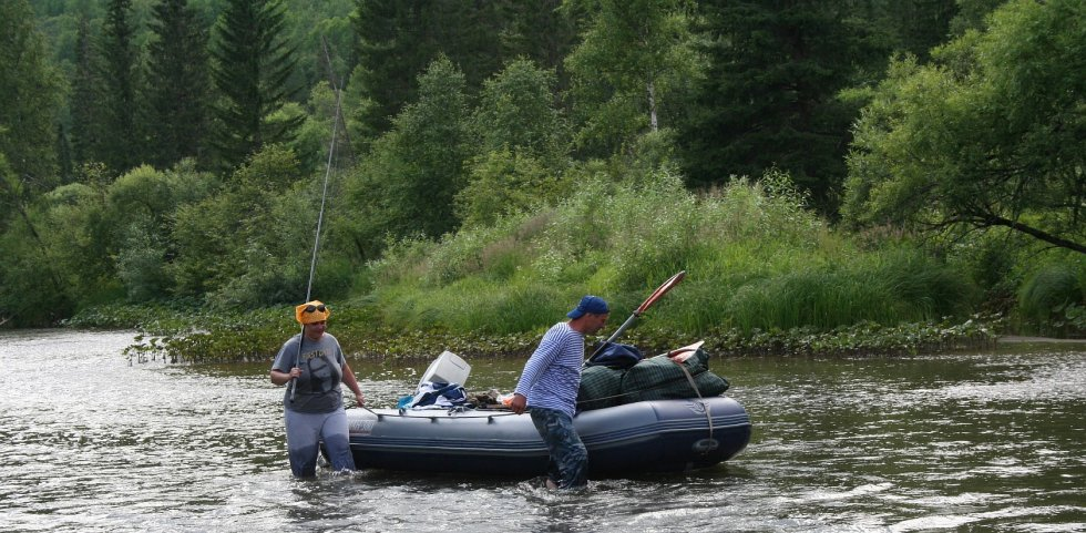 рыбалка и сплав по притокам енисея видео