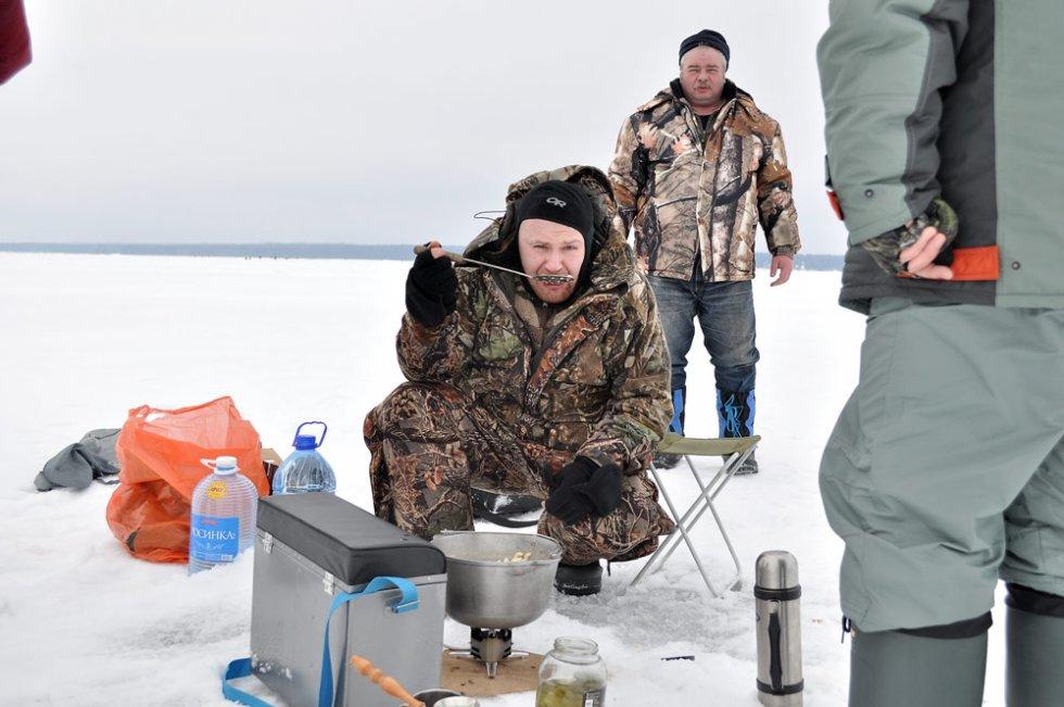 кто ловил корюшку на финском заливе
