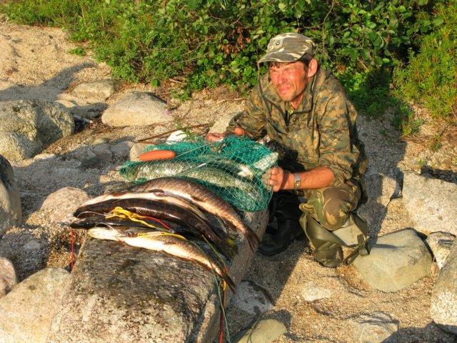 отчеты по рыбалке дикарем