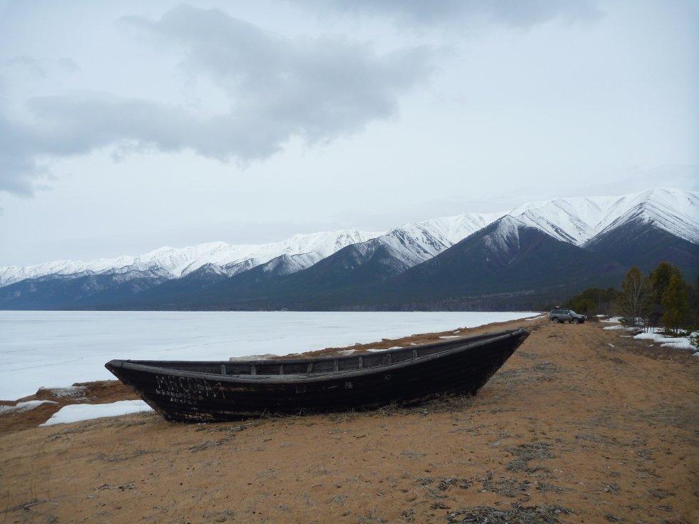 лодка бродяга