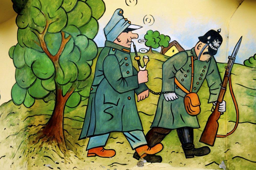 картинка бравого солдата швейка одно