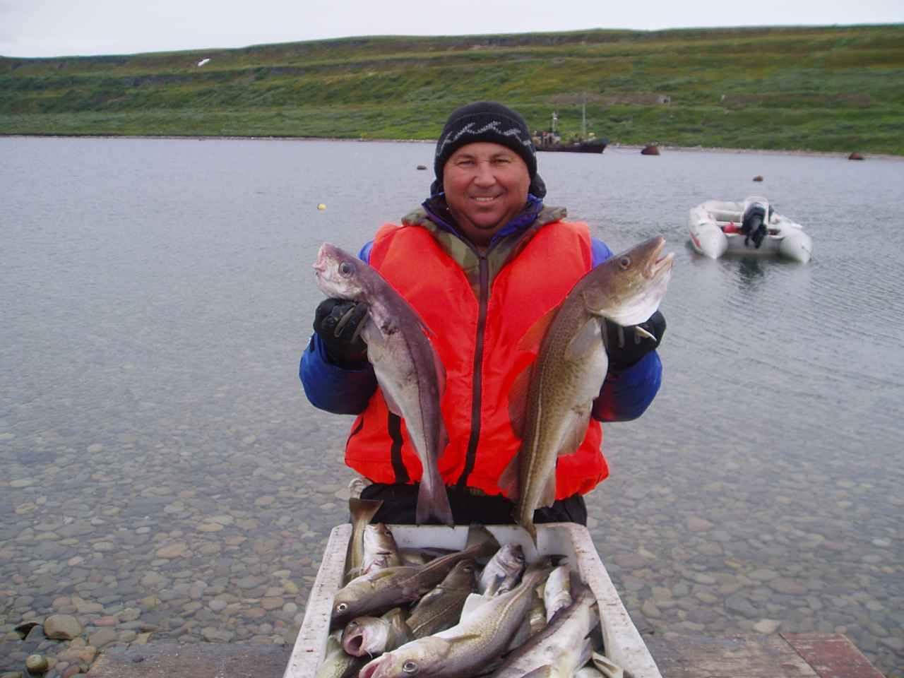 центральный остров рыбалка