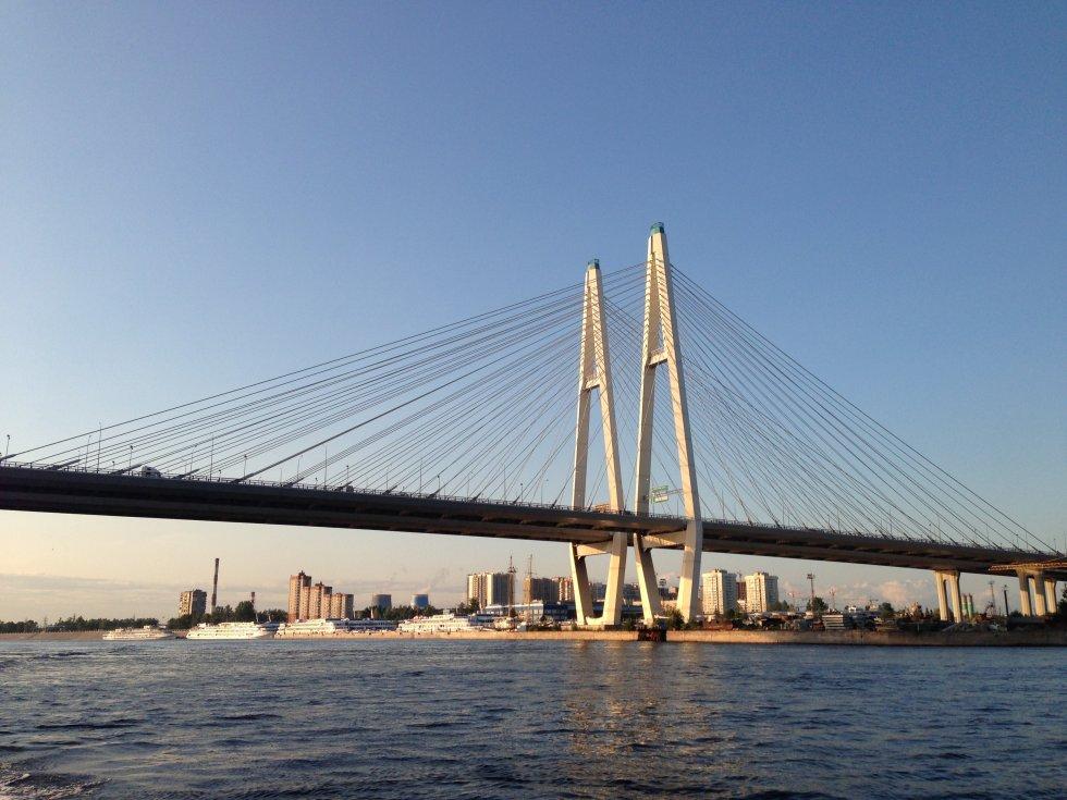 Вантовый мост.